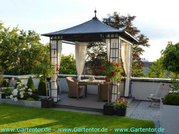 Metallpavillon Castel 3x3